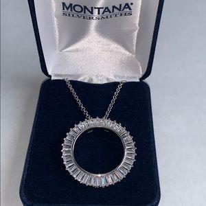 Montana Silversmiths Twilight Hali Circle Necklace